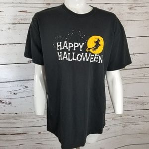💙💜 HAPPY HALLOWEEN WITCH T-SHIRT TEE LARGE